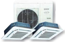 Climatizador Twin Axial Inverter