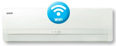 Unidad interior Spli tPared Wifi Luxe